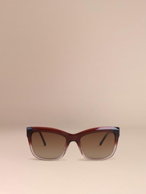 Темный армейский красный Солнцезащитные очки из коллекции Gabardine Lace Темный Армейский Красный - cell image 2