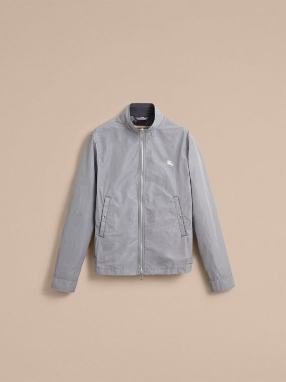 Lightweight Technical Jacket in Light Grey - Men | Burberry - cell image 3