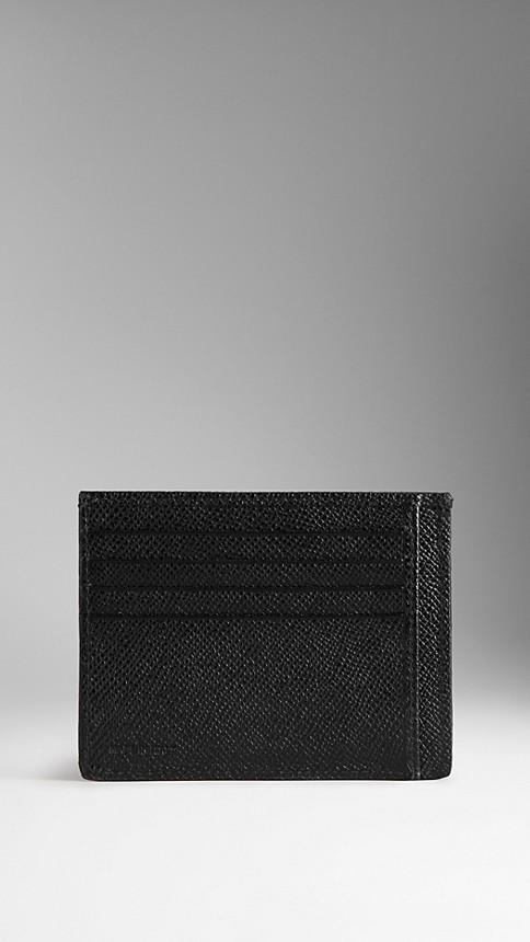 Black London Leather Card Case - Image 2