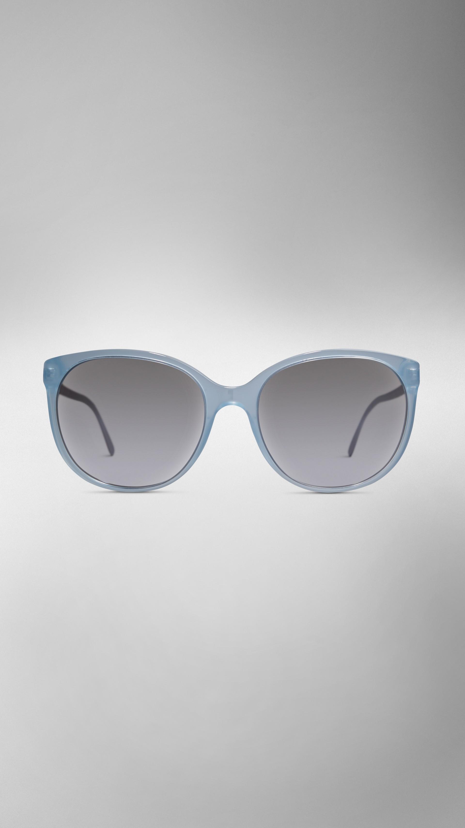 55f43f4597f Spark Cat-Eye Sunglasses in Light Blue - Women