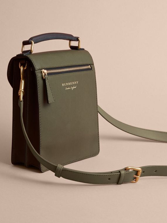 The Small DK88 Satchel in Moss Green - Men | Burberry United Kingdom - cell image 3