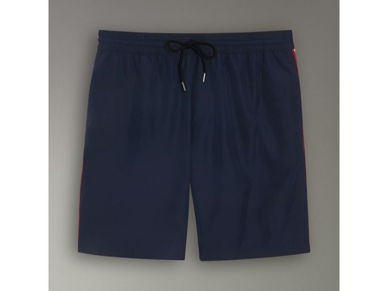 Drawcord Swim Shorts in Navy - Men | Burberry - cell image 2