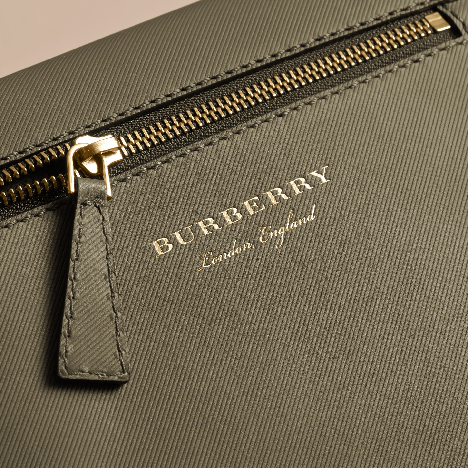The Small DK88 Satchel in Moss Green - Men | Burberry United Kingdom - gallery image 5