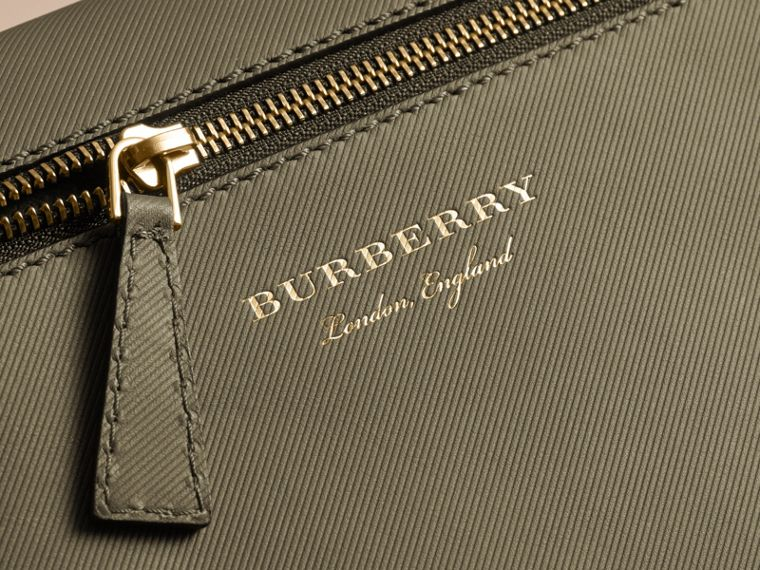 The Small DK88 Satchel in Moss Green - Men | Burberry United Kingdom - cell image 4