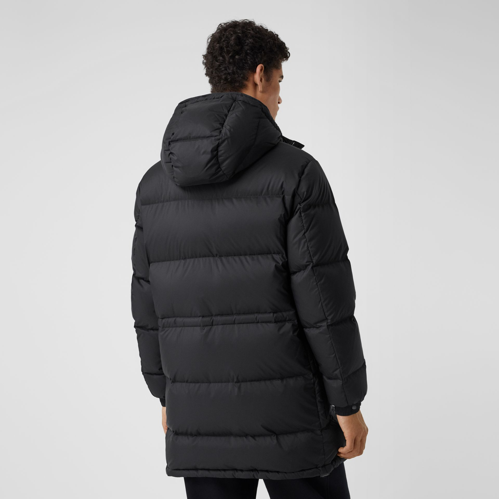 Hooded Puffer Coat in Black - Men | Burberry - gallery image 2
