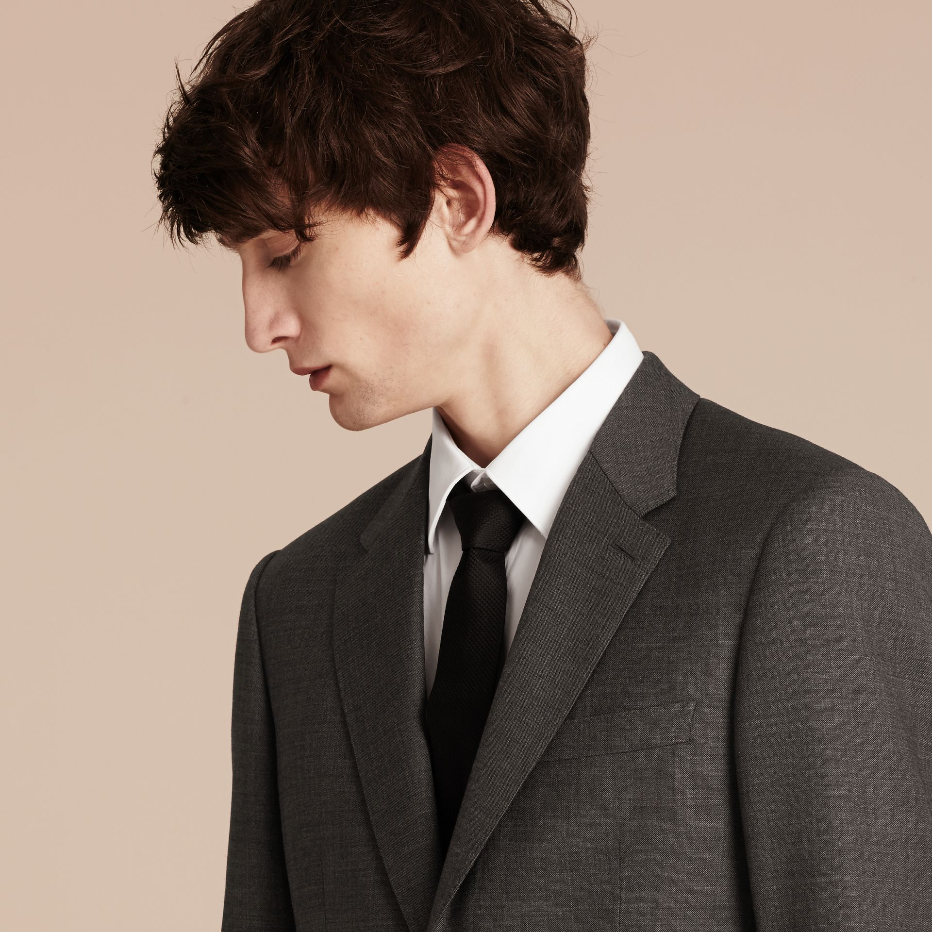 Modern Fit Travel Tailoring Virgin Wool Suit - Men | Burberry - gallery image 5