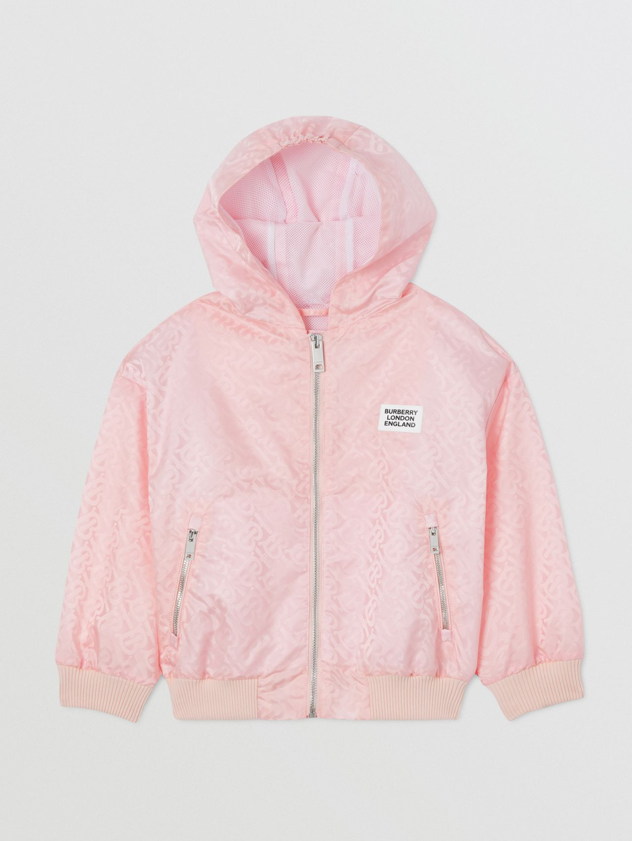 Monogram ECONYL® Hooded Jacket (Cloud Pink)