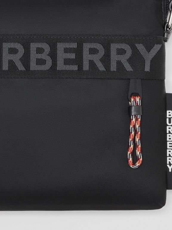 Logo Detail Crossbody Bag in Black - Men | Burberry - cell image 1