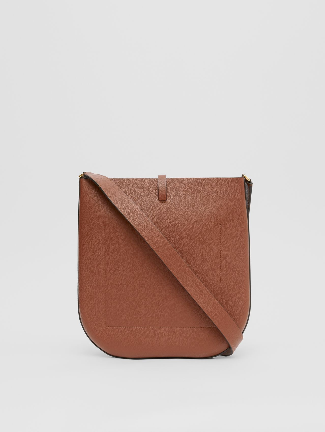 Grainy Leather Anne Bag (Tan)
