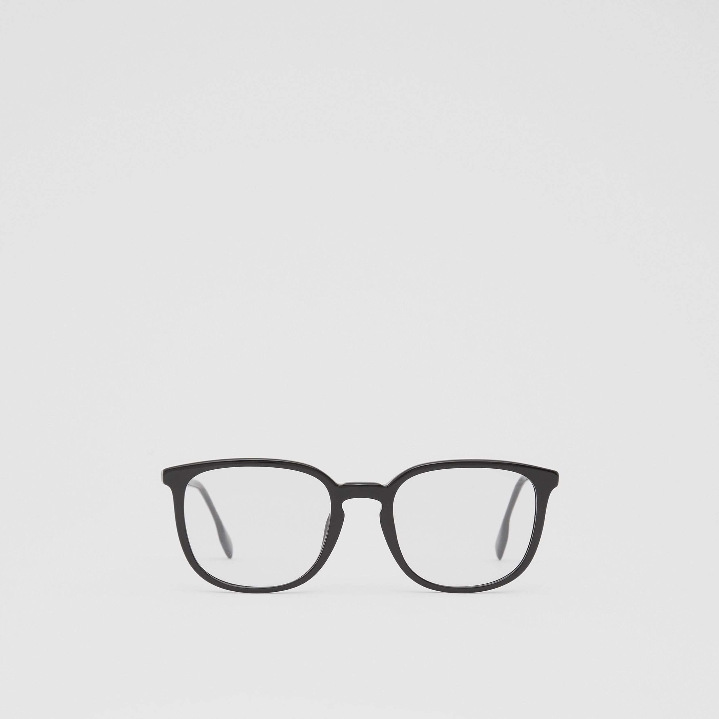 Square Optical Frames in Black | Burberry - 1