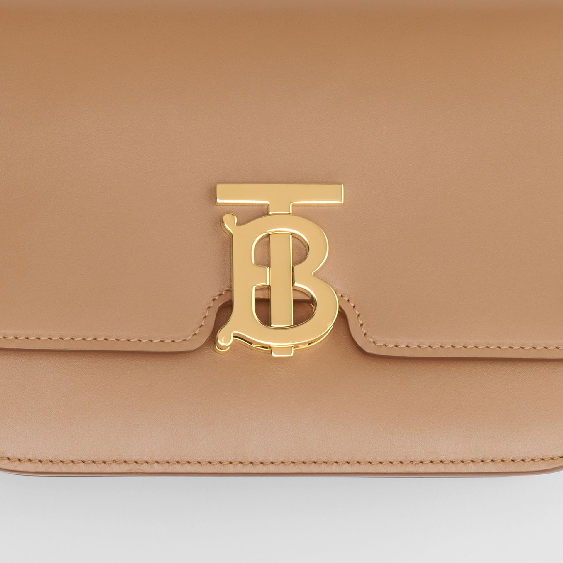 Small Leather TB Bag in Light Camel - Women | Burberry United Kingdom - gallery image 1