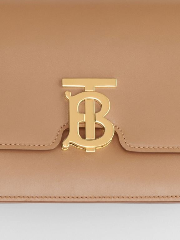 Small Leather TB Bag in Light Camel - Women | Burberry United Kingdom - cell image 1