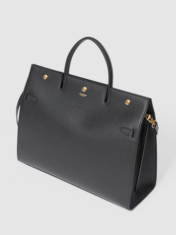 Grand sac Title en cuir (Noir) - Femme | Burberry - cell image 3
