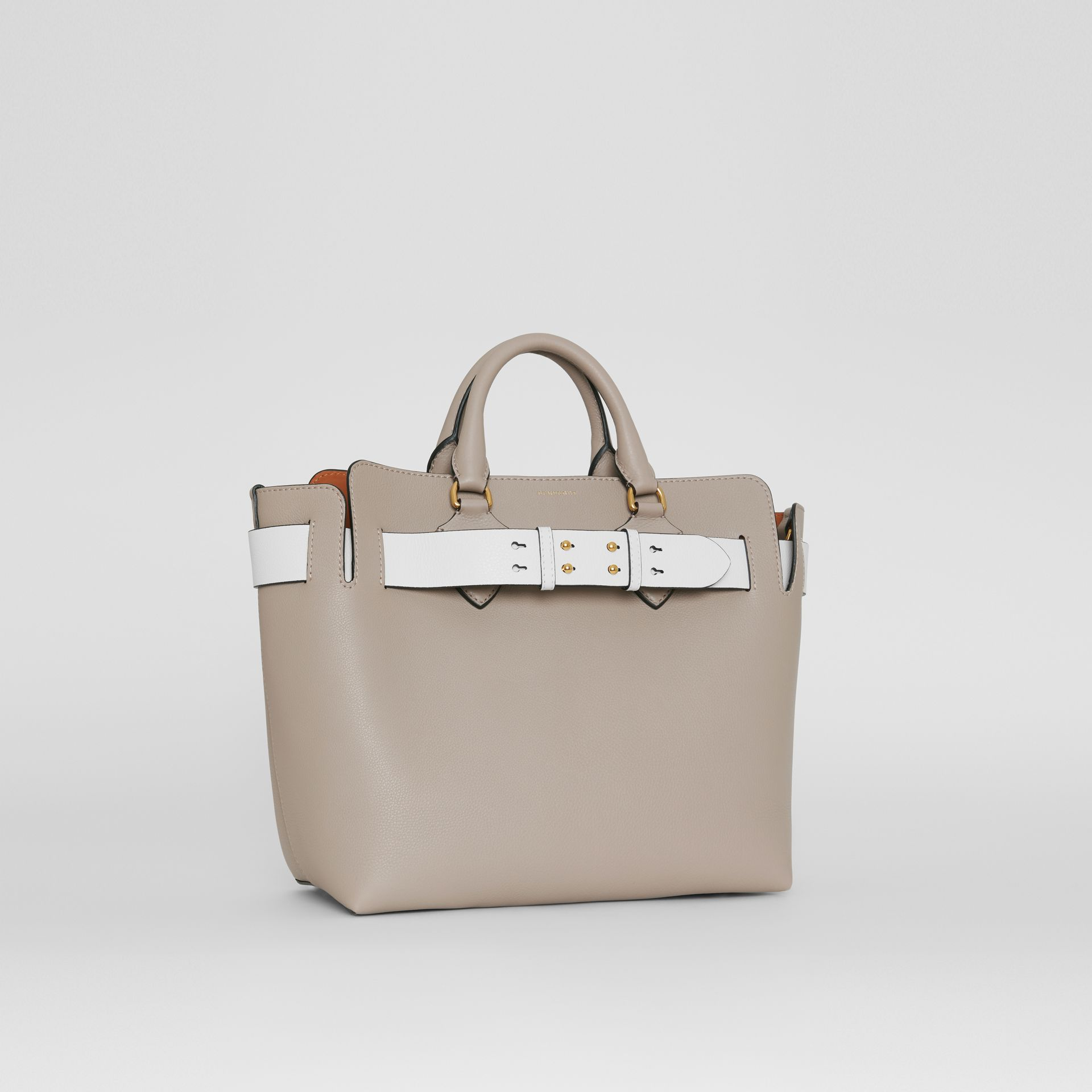 The Medium Leather Belt Bag in Mineral Grey - Women | Burberry United Kingdom - gallery image 6