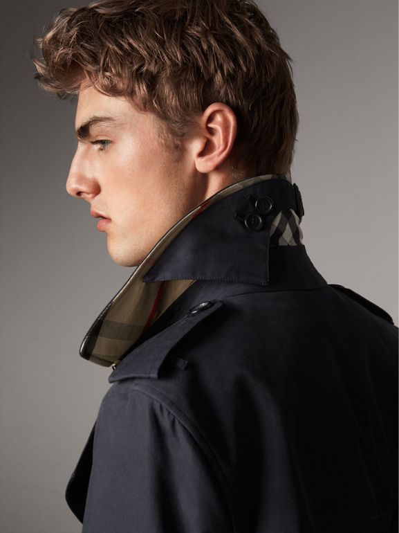 The Sandringham – Long Trench Coat in Navy - Men | Burberry United Kingdom - cell image 1