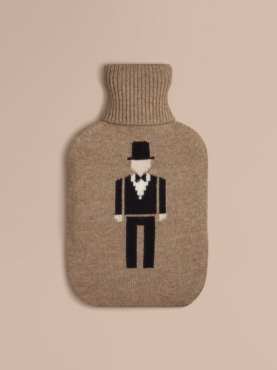 The Dancer Graphic Cashmere Hot Water Bottle Cover