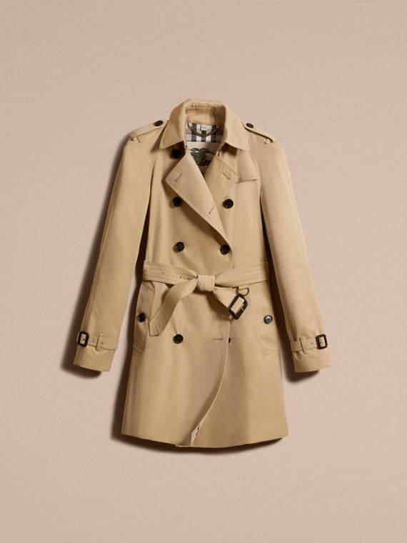 Honey The Westminster – Mid-Length Heritage Trench Coat Honey - cell image 3