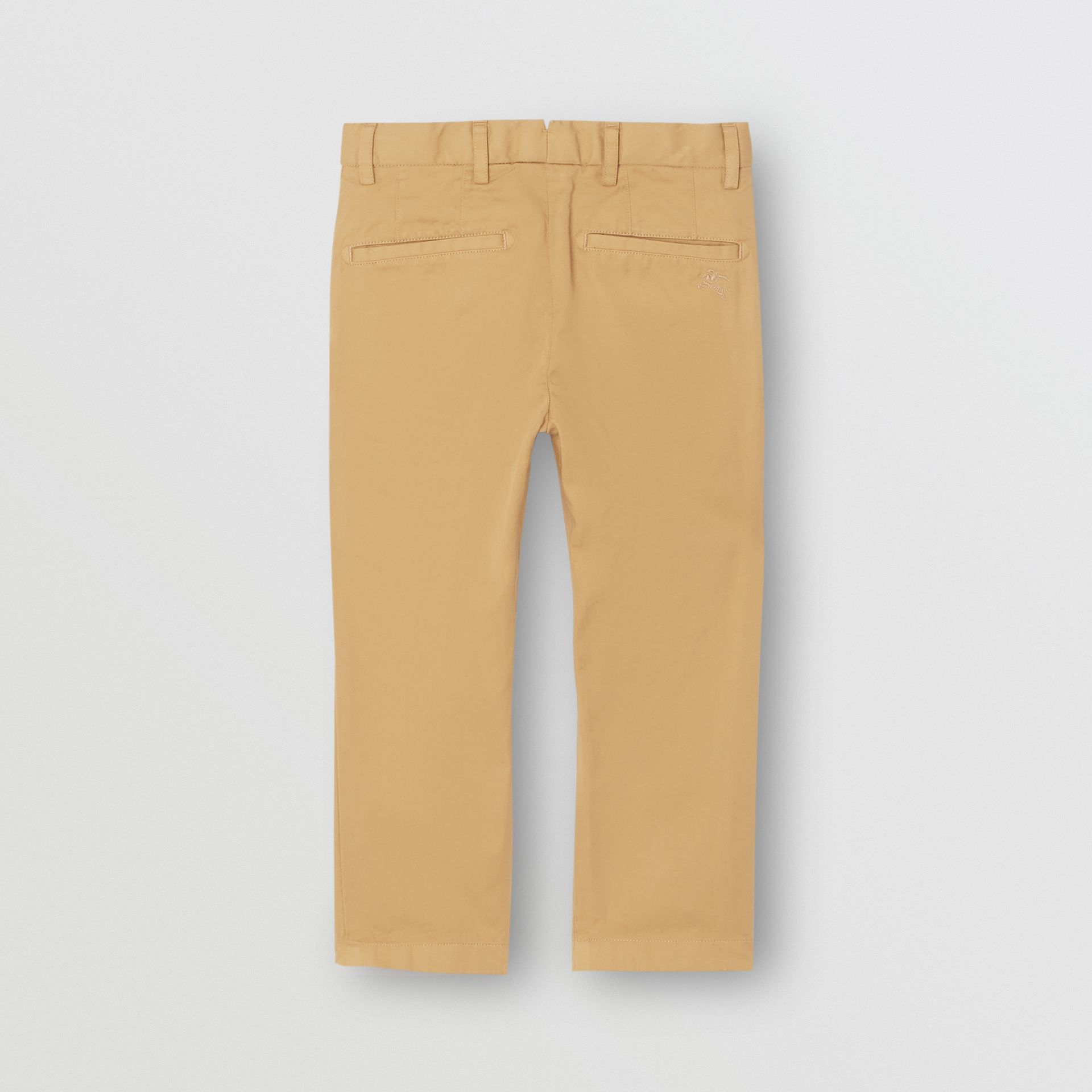 Cotton Chinos in Taupe | Burberry - gallery image 3