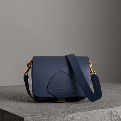 The Medium Square Satchel in Leather
