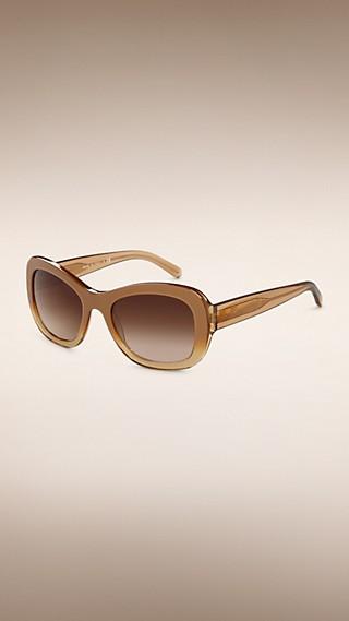 Gafas de sol de montura redonda de la colección Trench coat