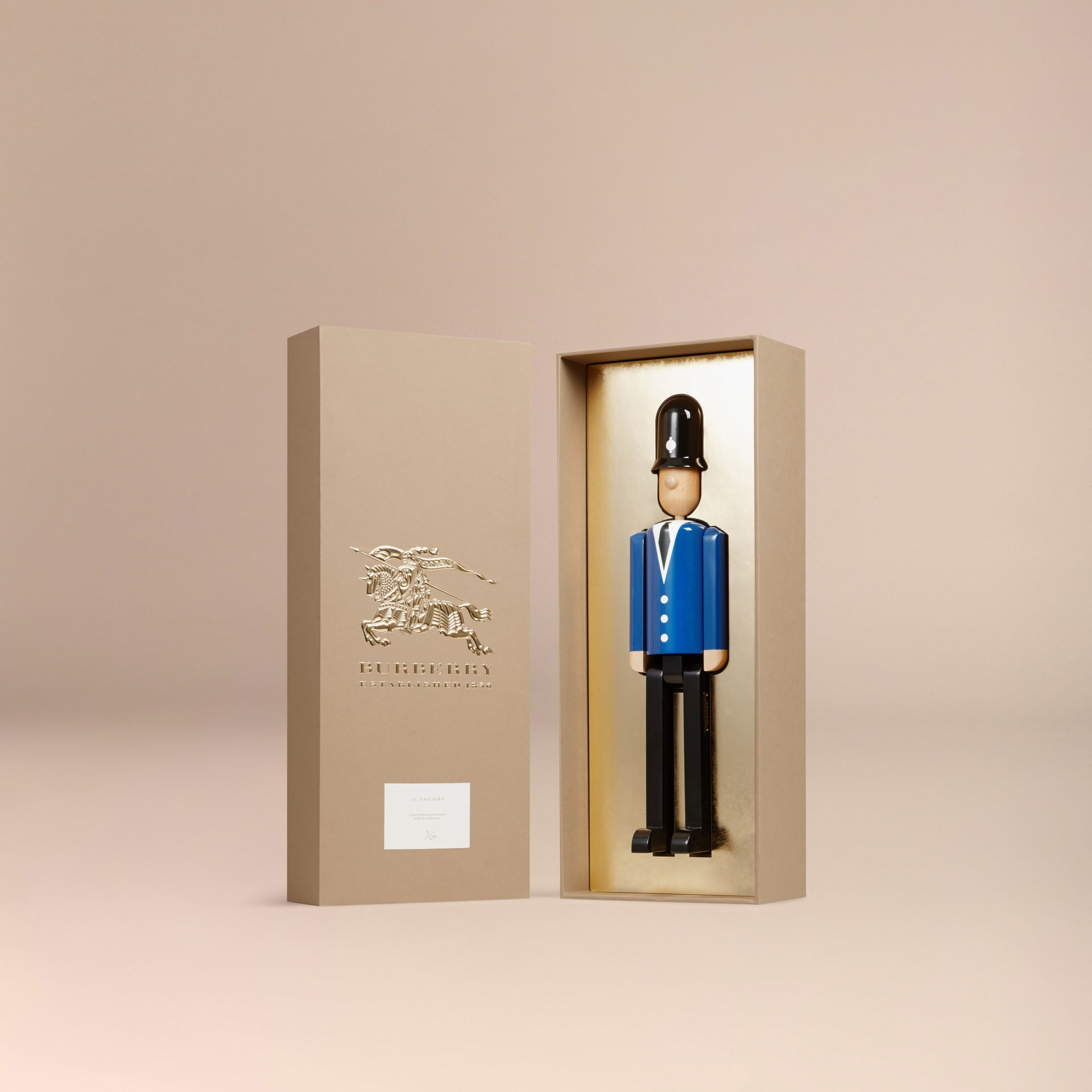 Multicolour The Bobby Limited Edition Wooden Puppet - gallery image 3