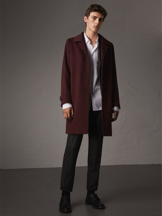 Cappotto car coat in cashmere - Uomo | Burberry