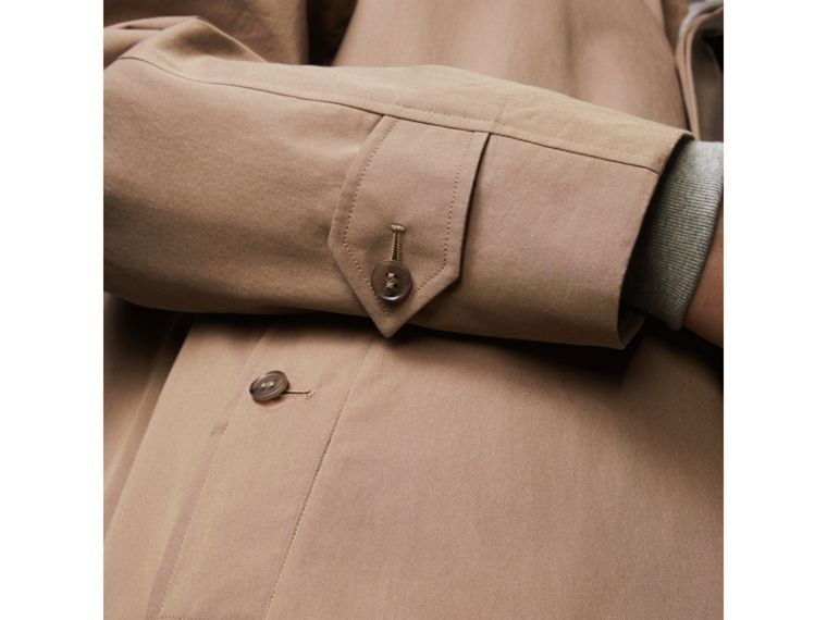 The Brighton Car Coat in Taupe Brown - Men | Burberry - cell image 4