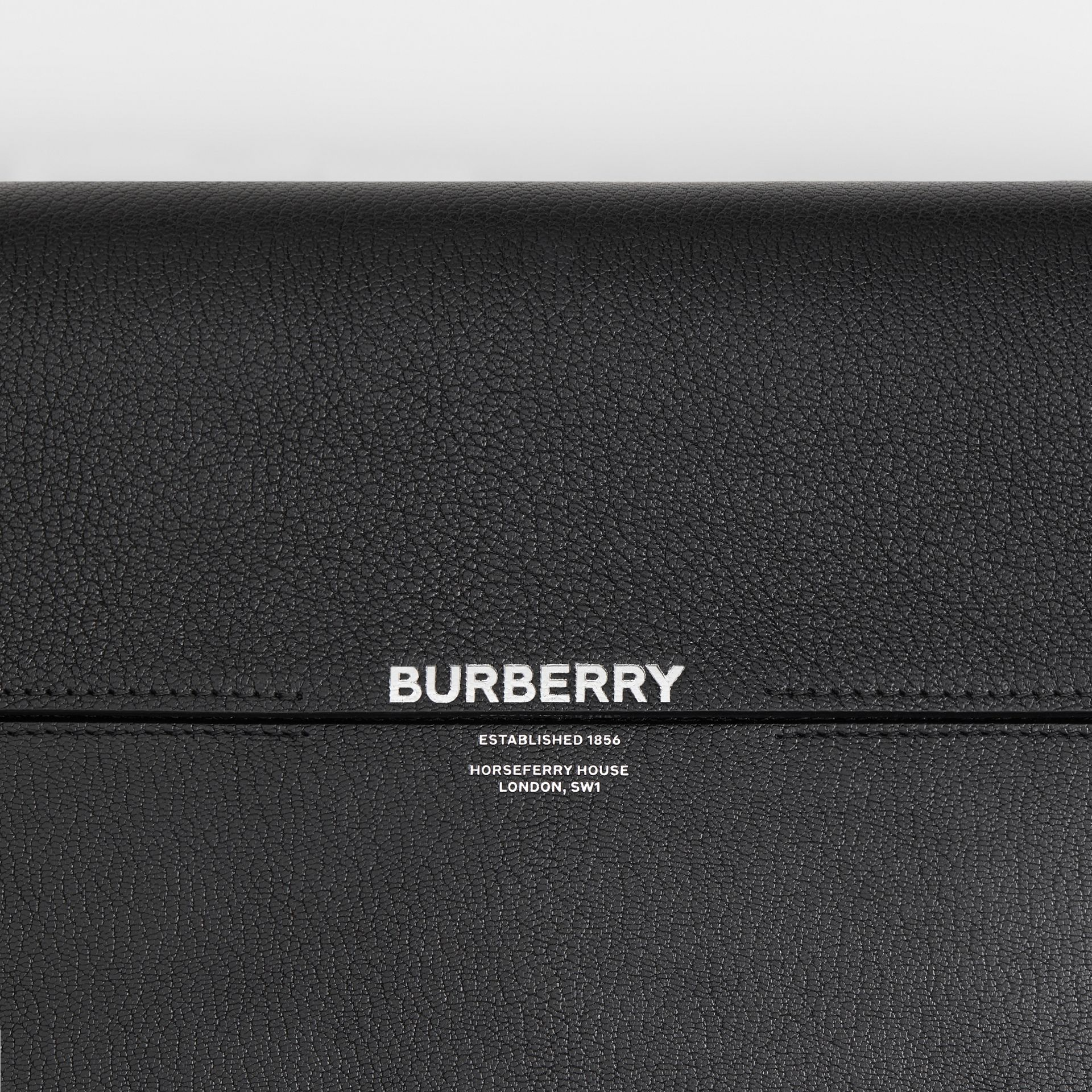 Large Leather Grace Bag in Black - Women | Burberry - gallery image 1