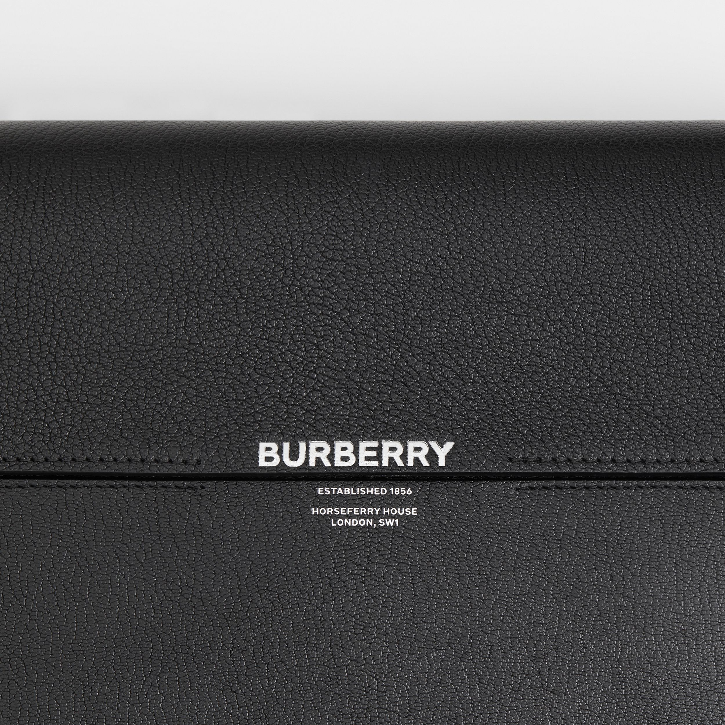 Large Leather Grace Bag in Black - Women | Burberry - 2