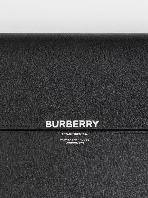 Large Leather Grace Bag in Black - Women | Burberry - cell image 1