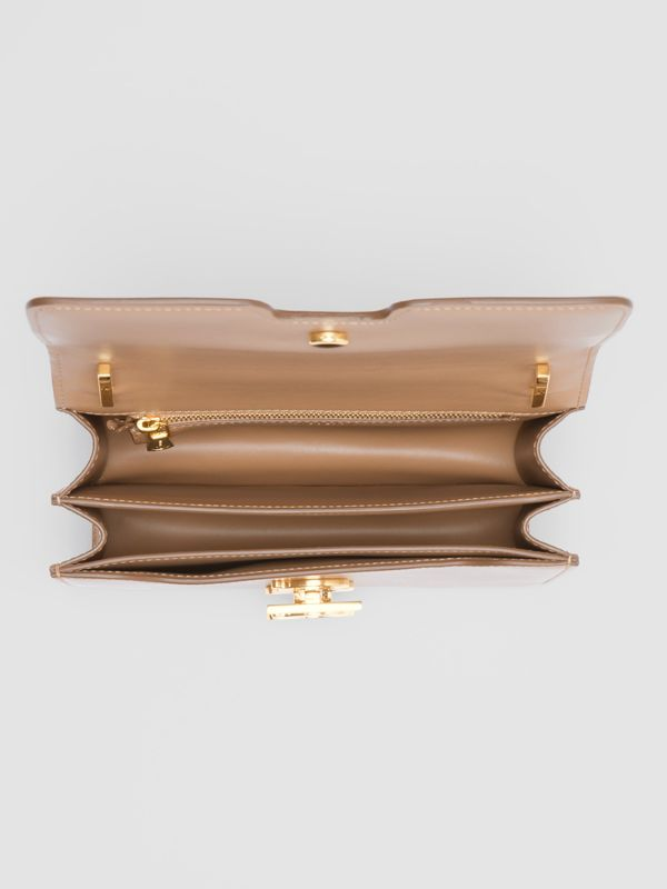 Small Leather TB Bag in Light Camel - Women | Burberry - cell image 3