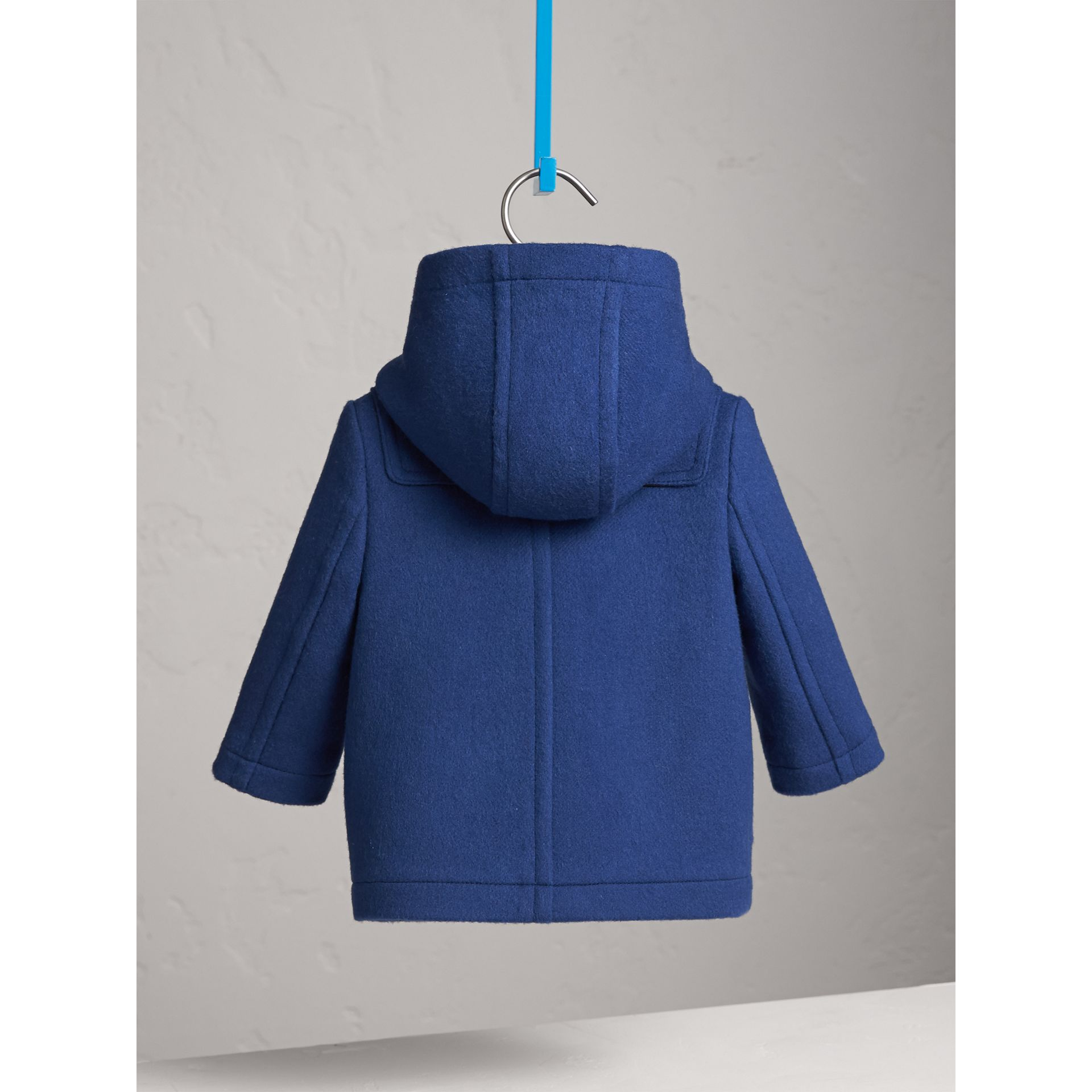 Wool Duffle Coat in Cobalt Blue | Burberry - gallery image 4