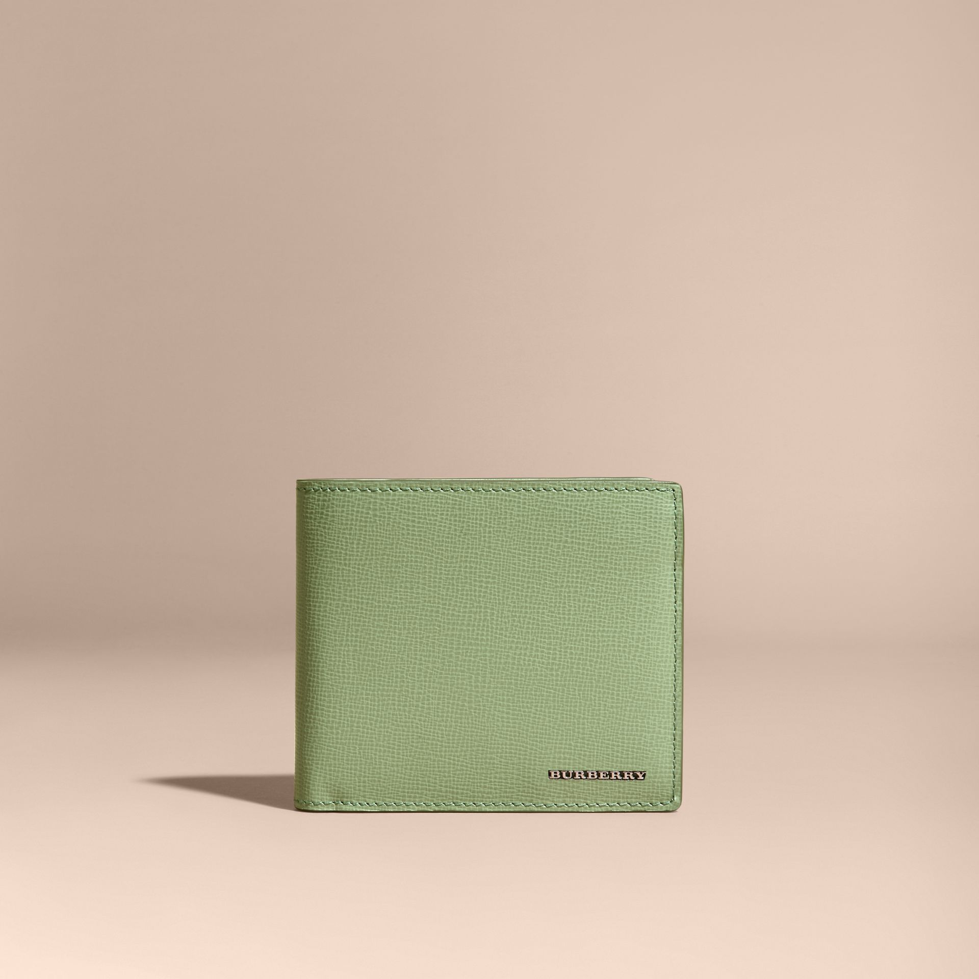 London Leather International Bifold Wallet in Antique Green - gallery image 6