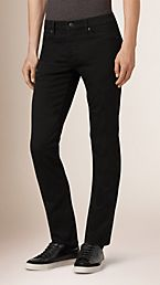 Straight Fit Stretch-denim Jeans