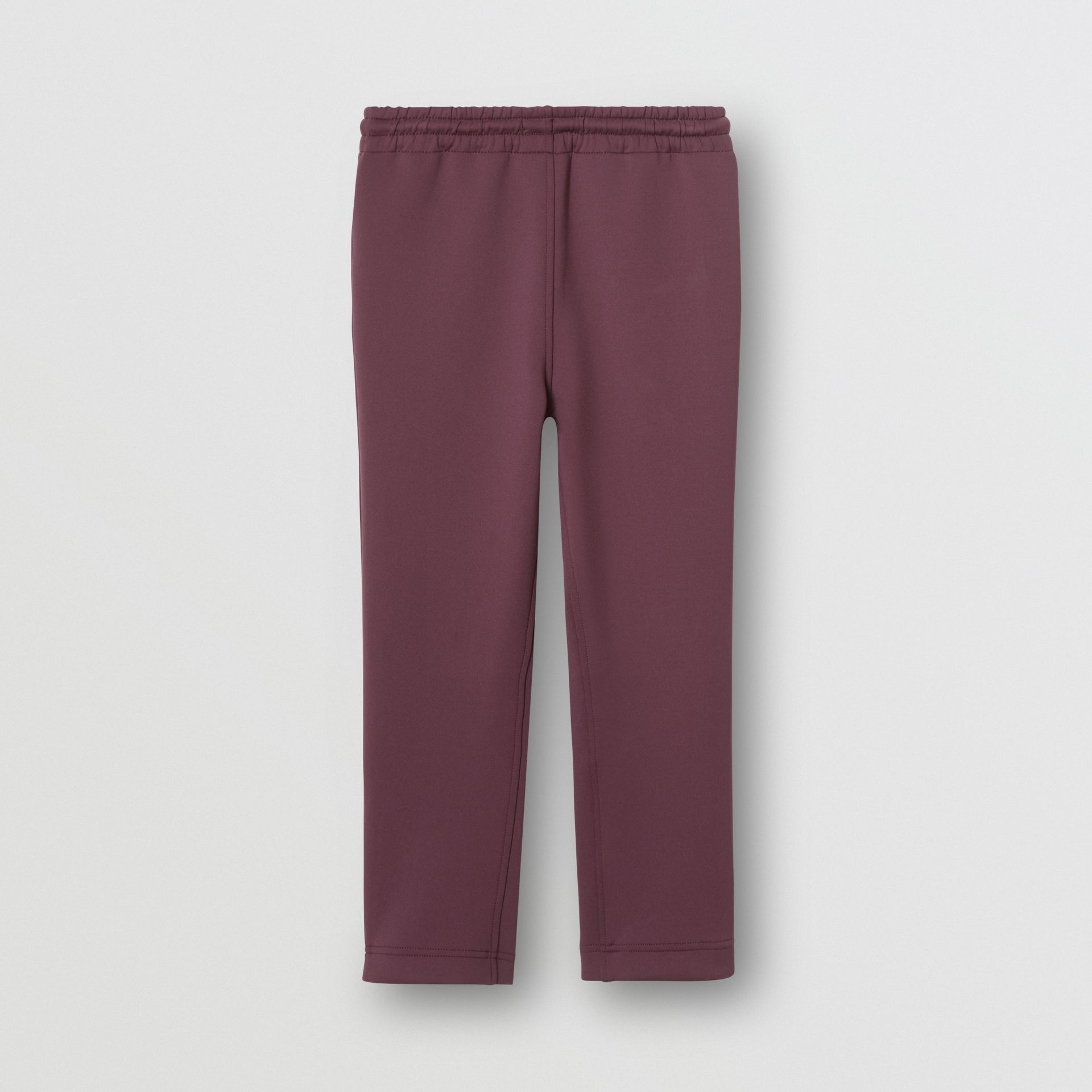 Logo Print Lightweight Trackpants in Claret - Children | Burberry - gallery image 4