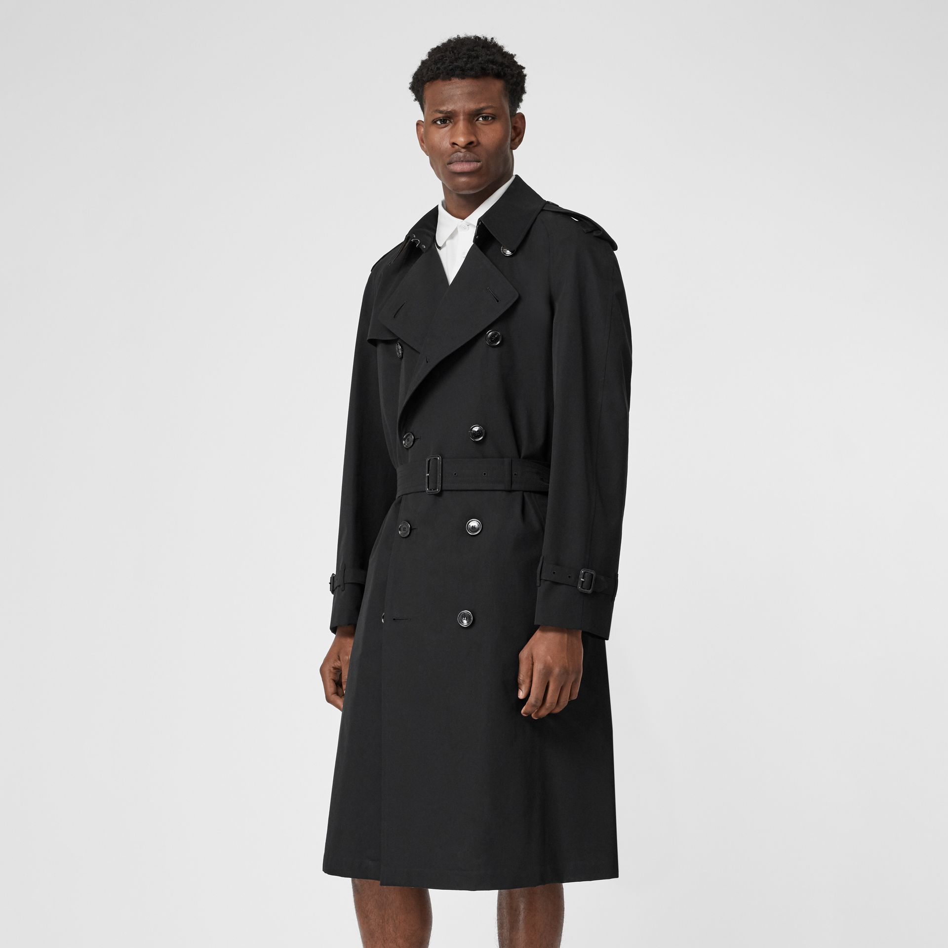 The Westminster Heritage Trench Coat in Black - Men | Burberry Hong Kong - gallery image 7