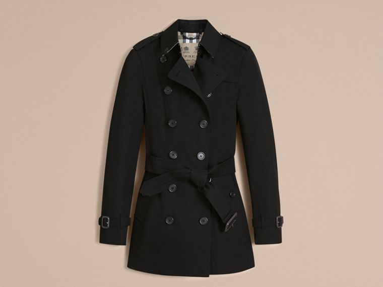Preto The Sandringham - Trench coat Heritage curto Preto - cell image 4