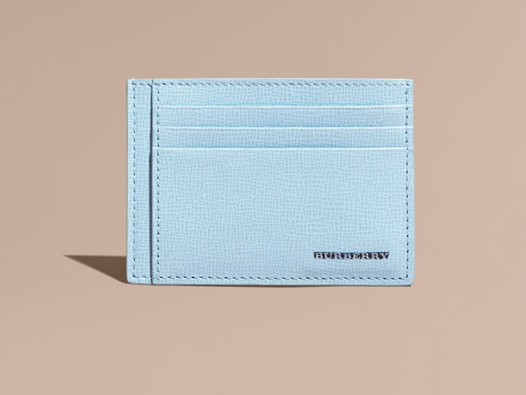 London Leather Card Case Powder Blue - cell image 1