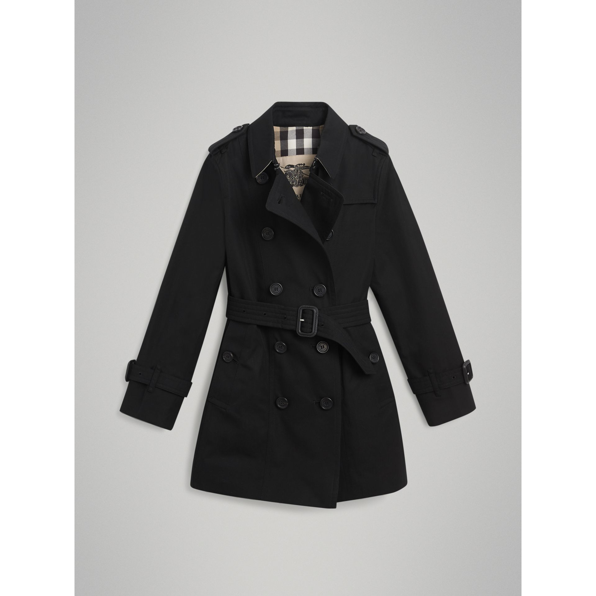 Trench The Sandringham (Noir) | Burberry Canada - photo de la galerie 3