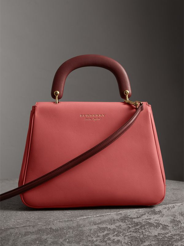 The Medium DK88 Top Handle Bag in Blossom Pink - Women | Burberry - cell image 2