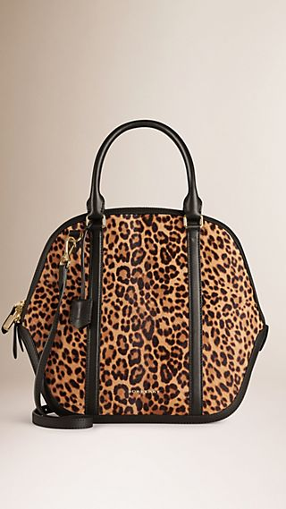 The Large Orchard in Animal Print Calfskin