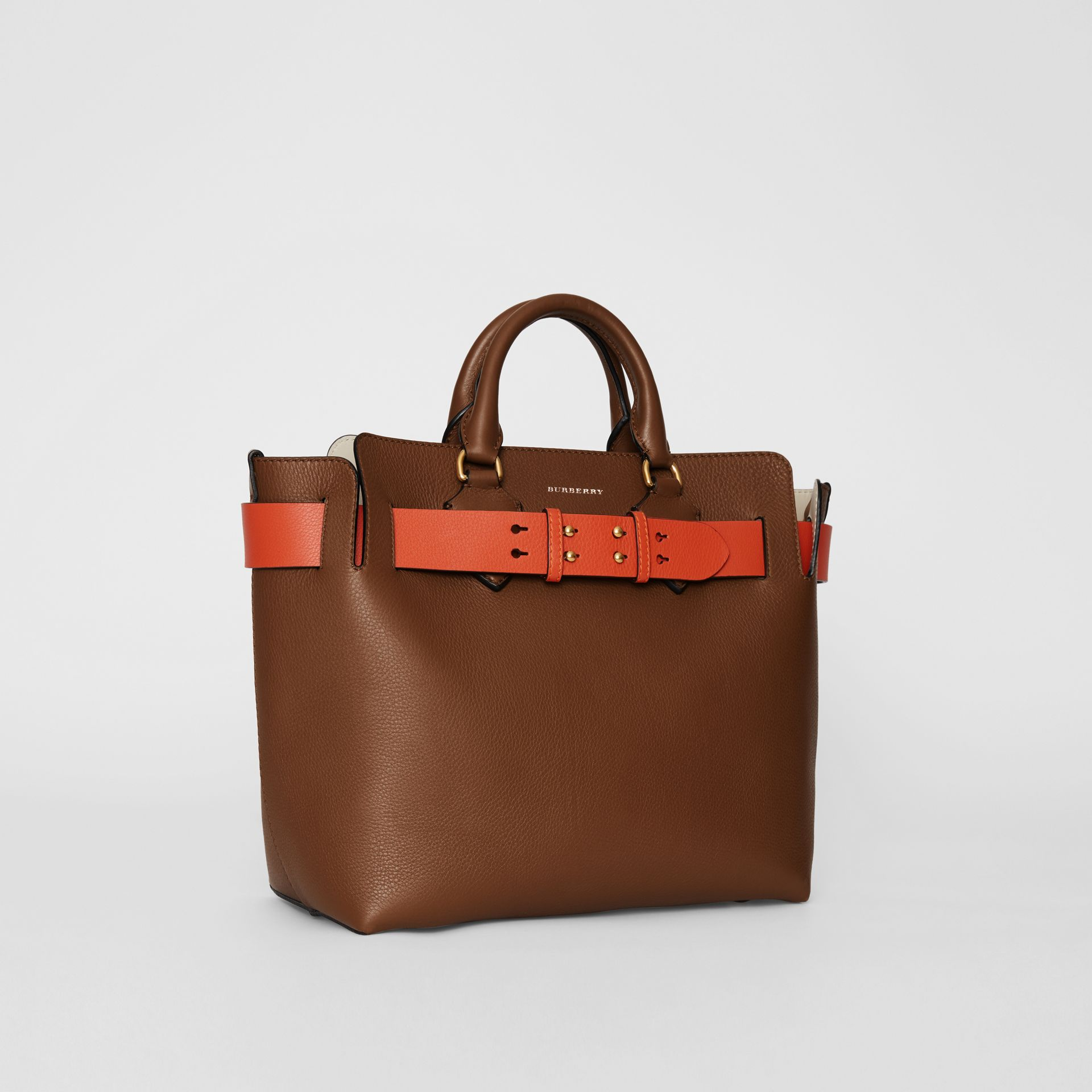 The Medium Leather Belt Bag in Tan - Women | Burberry Australia - gallery image 6
