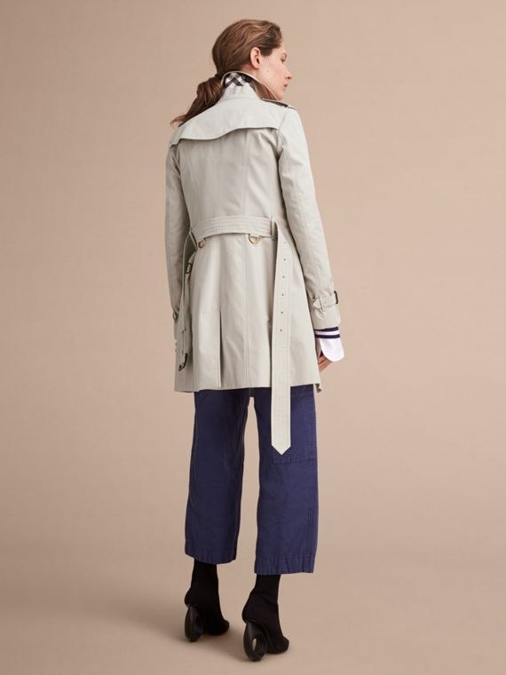 Stone The Sandringham – Mid-Length Heritage Trench Coat Stone - cell image 3