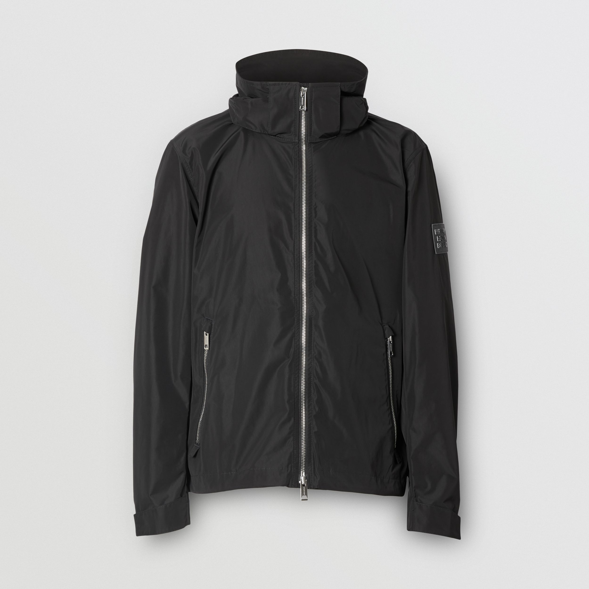 Packaway Hood Shape-memory Taffeta Jacket in Black - Men | Burberry - 4