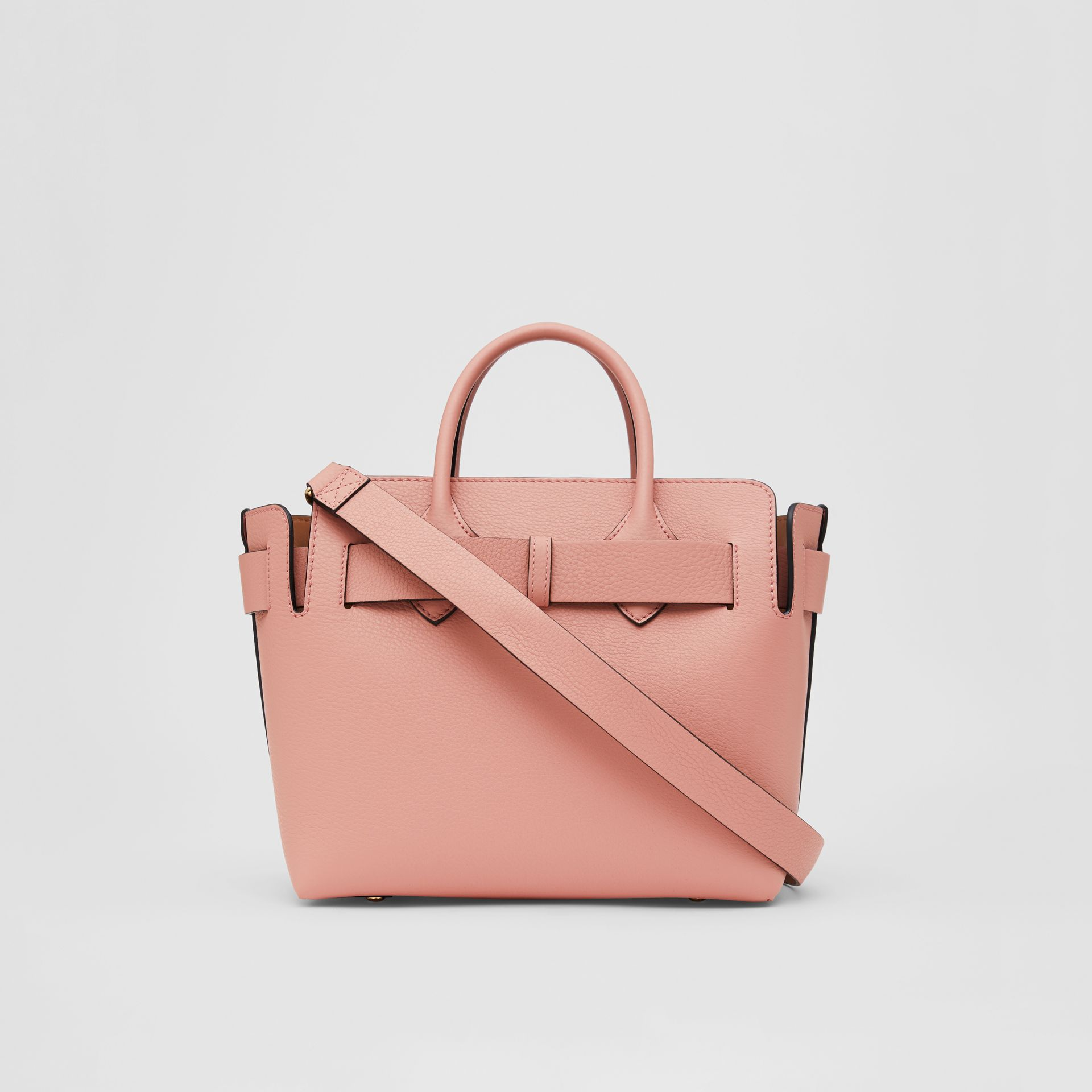 The Small Leather Triple Stud Belt Bag in Ash Rose - Women | Burberry - gallery image 5