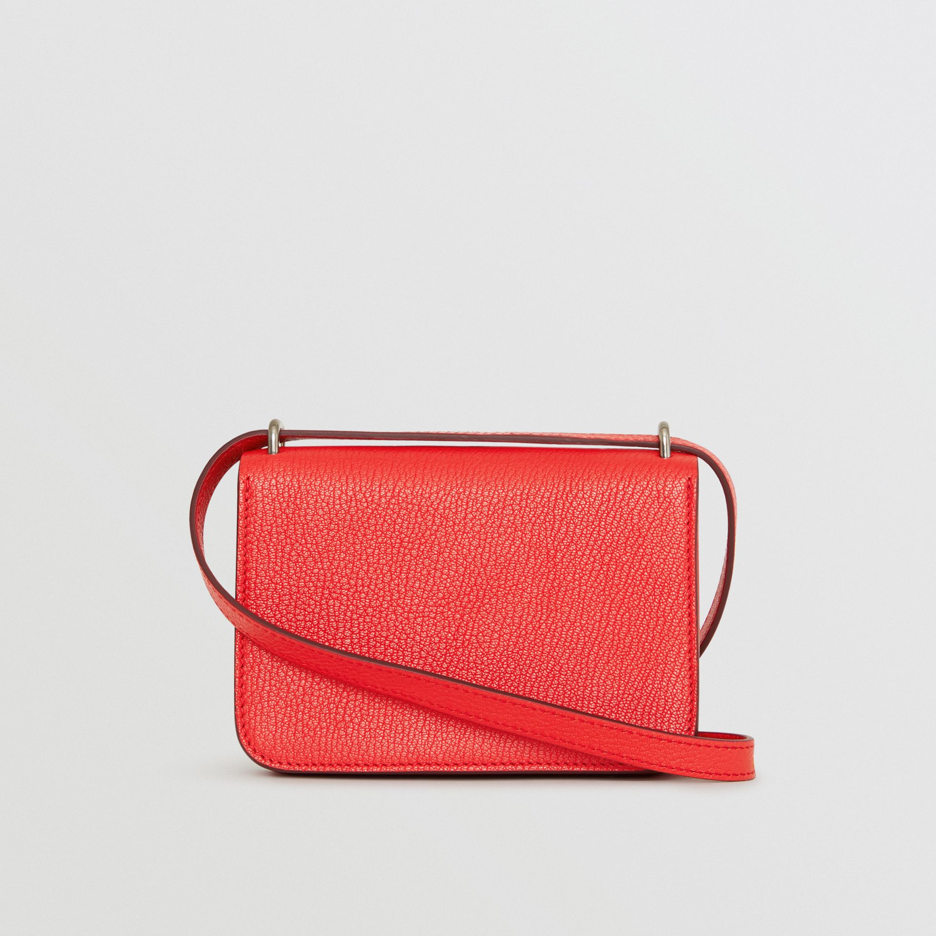 Mini sac The D-ring en cuir (Rouge Vif) - Femme | Burberry Canada - photo de la galerie 7