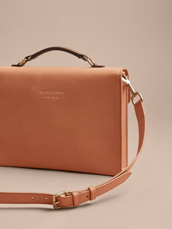 The DK88 Portfolio Case in Pale Clementine - Men | Burberry - cell image 3