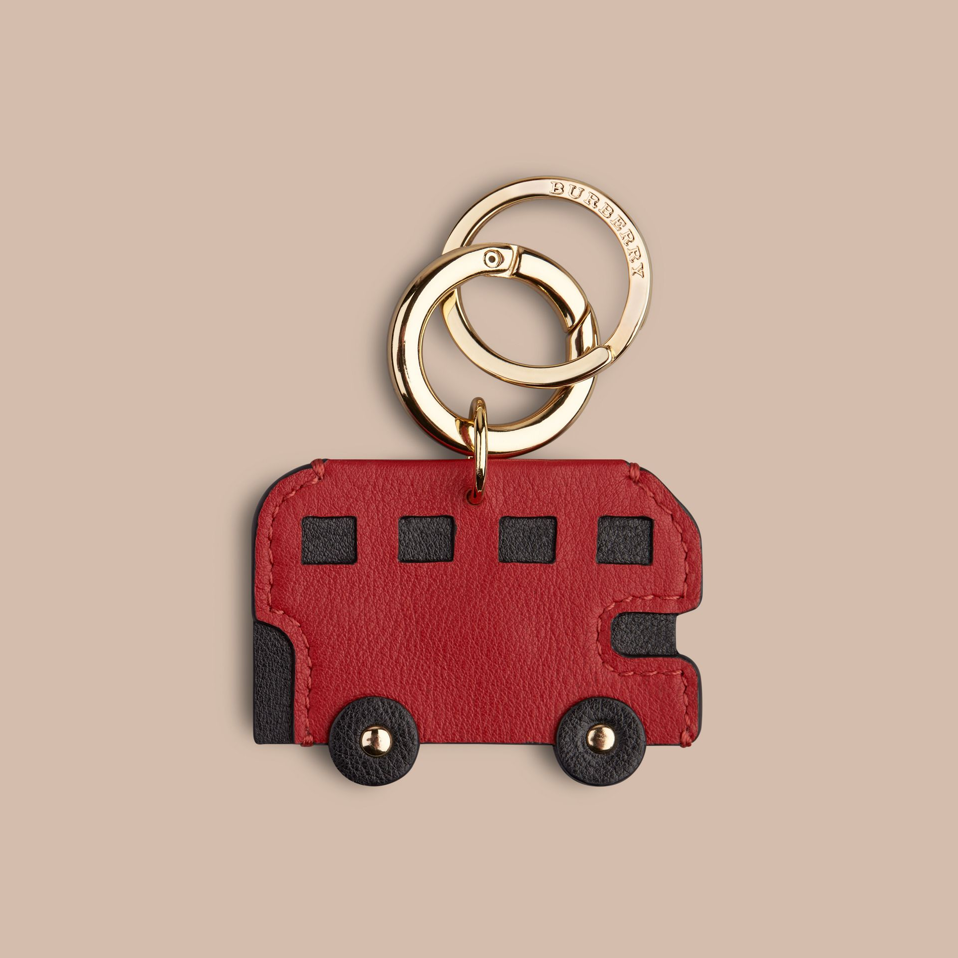 Parade red London Bus Key Charm - gallery image 1
