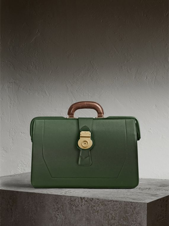 The DK88 Doctor's Bag with Alligator - Men | Burberry Singapore