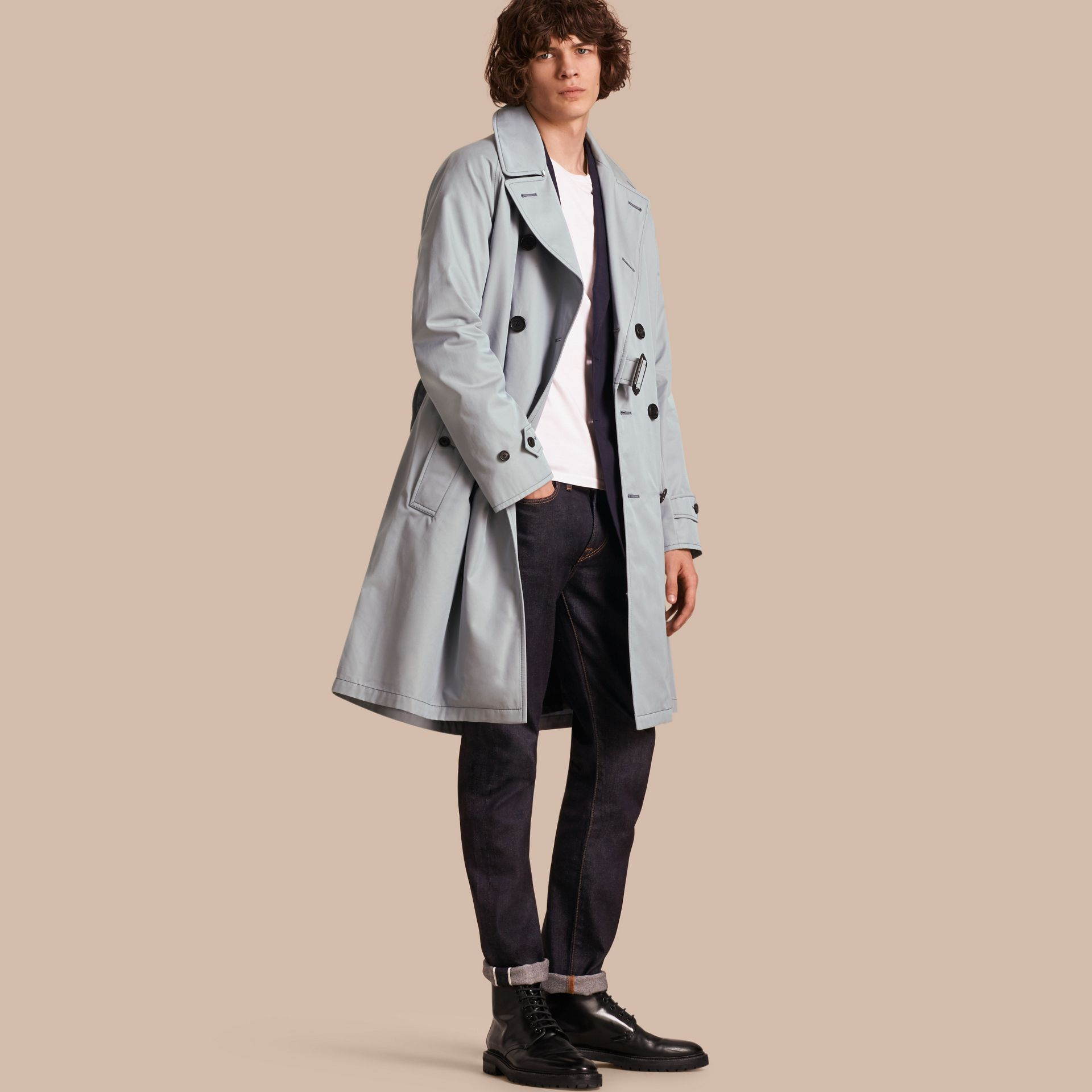 Cotton Trench Coat - gallery image 1